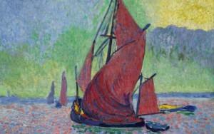 Monet Thames Barge